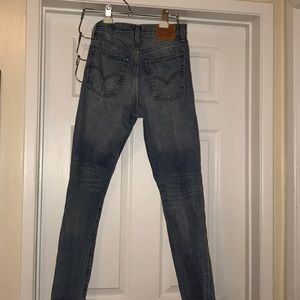 High waisted Levis wedgie fit